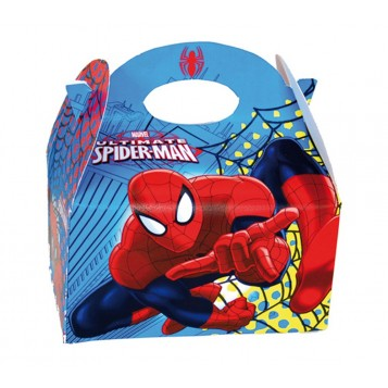 Caja Spiderman con chuches