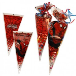 Bolsa cono Spiderman con chuches