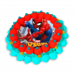 Tarta oblea Spiderman