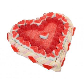 Tarta de chuches Corazón