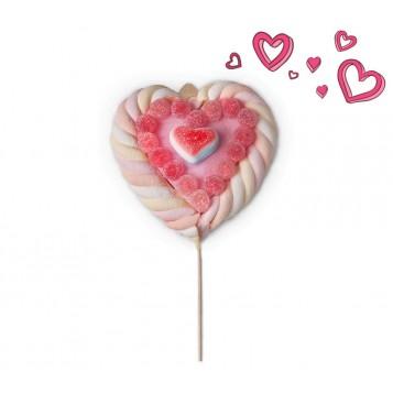 Brocheta Corazón San Valentín