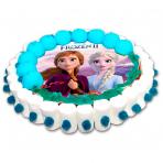 Tarta oblea Frozen