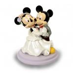 Figura Boda Mickey y Minnie