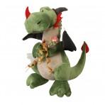 Peluche dragon verde