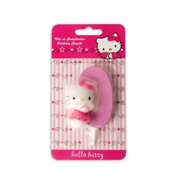 Vela Hello Kitty Nº0
