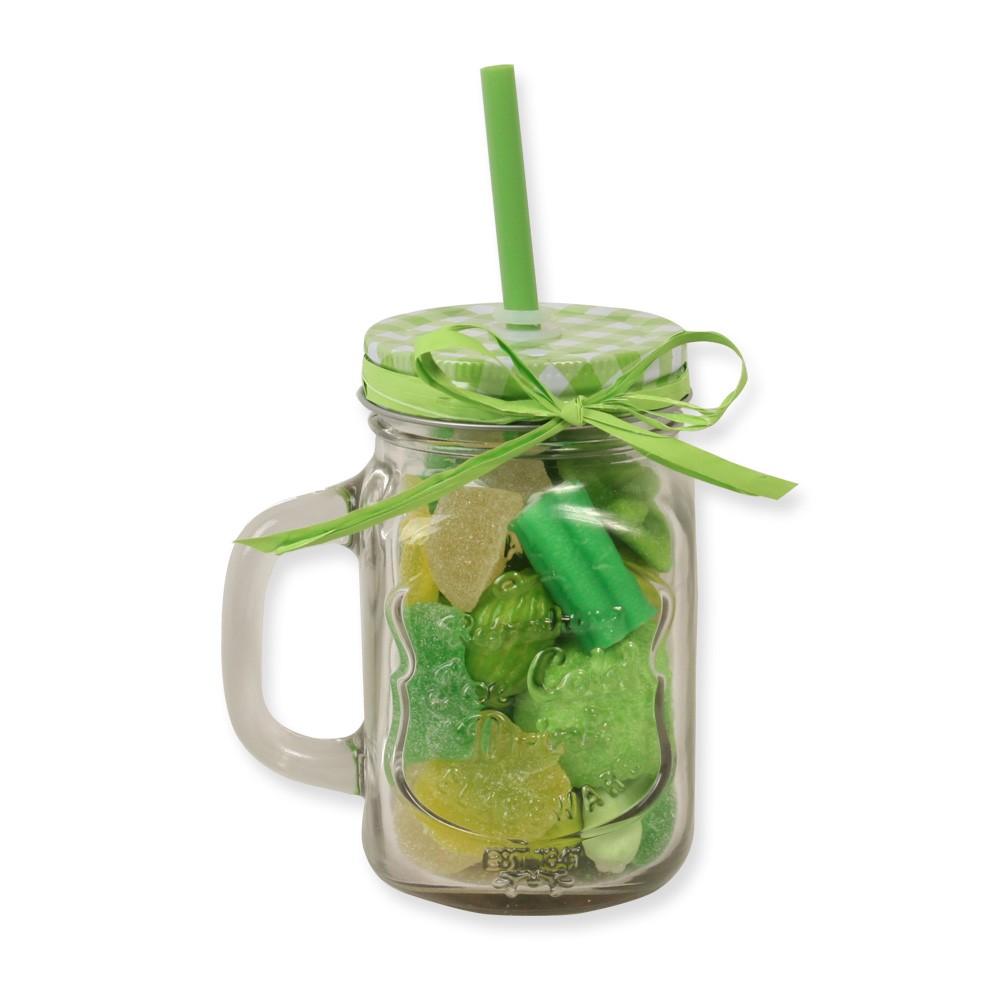 Tarro smoothie tarro cristal smoothie chuches verde - Tarro con pajita ...