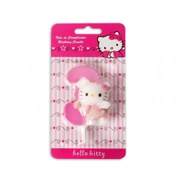 Vela Hello Kitty Nº3