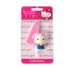 Vela Hello Kitty Nº4