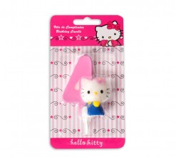 Vela Hello Kitty Nº4