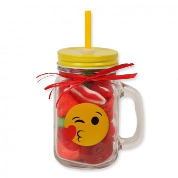 Tarro smoothie chuches emoticono