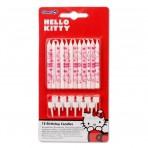 Velas Hello Kitty 12 unidades