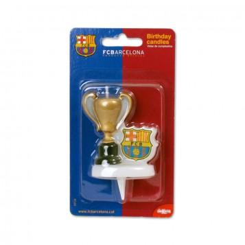 Vela Barça con Copa