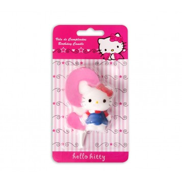 Vela Hello Kitty Nº9