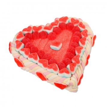 Tarta Corazón San Valentín