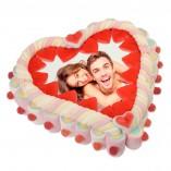 Regalo Tarta con foto San Valentín
