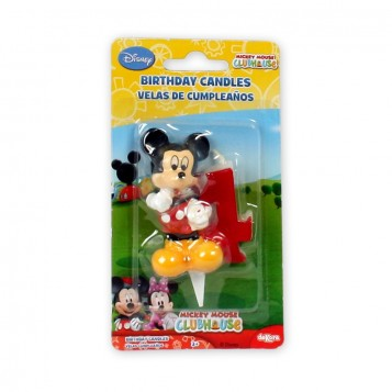 Vela Mickey Nº4