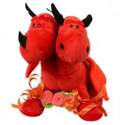Dragón rojo Sant Jordi