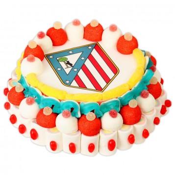 Tarta del Atlético de Madrid