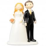 Figura boda novios esposados
