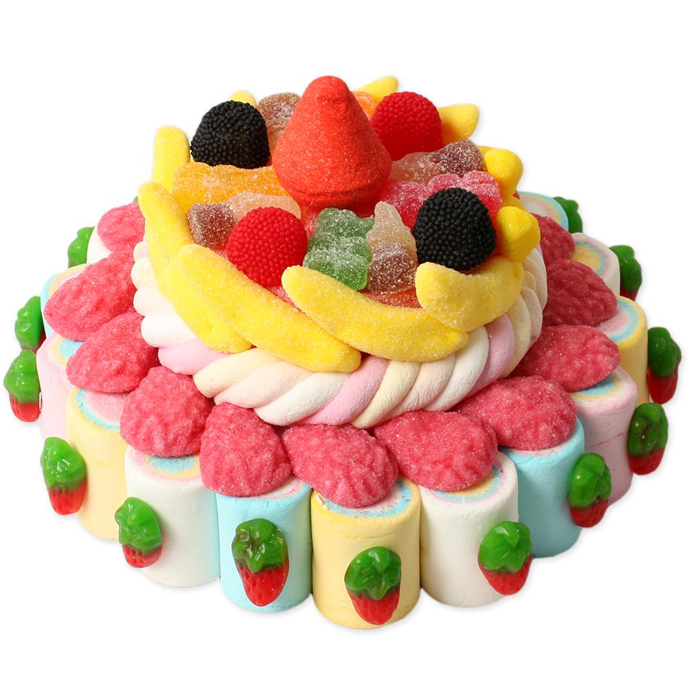 Tartas peque as tarta 2 pisos peque a tarta chuches - Tartas de chuches fotos ...