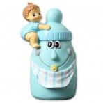 Fugura para tarta bebé con biberón