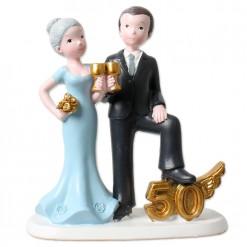 Figura bodas de oro