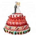 Tarta de chuches para bodas Maxi sin figura