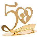 Número 50 para tarta de Bodas de Oro