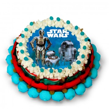 Tarta Chuches Star Wars