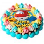 Tarta de chuches Super Wings