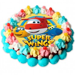 Tarta de chuches Super Wings