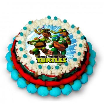 Tarta chuches Tortugas Ninja