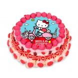 Tarta chuches Hello Kitty