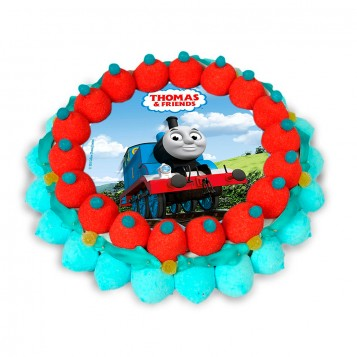 Tarta cuches Thomas & Friends