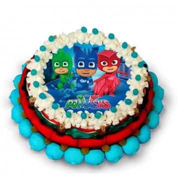 Tarta de chuches grande PJ Masks