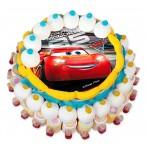 Tarta chuches Rayo McQueen Cars