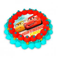 tarta chuches Cars3