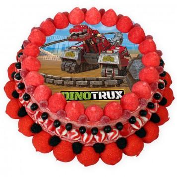 Tarta chuches Dinotrux