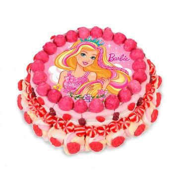 Tarta chuches Barbie