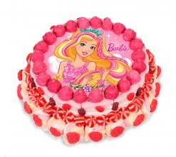 Tarta chuches Barbie