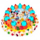 Tarta chuches Mickey and friends