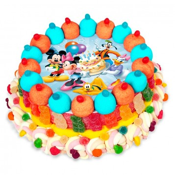 Tarta cuches Mickey and friends
