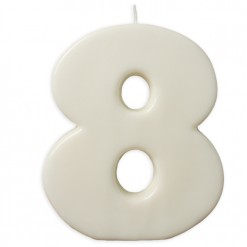 VELA BIG BLANCO Nº 8