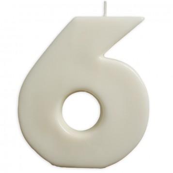 VELA BIG BLANCO Nº 6